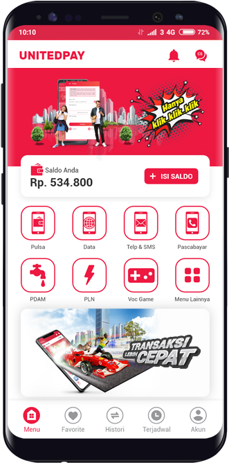 unitedpay android support