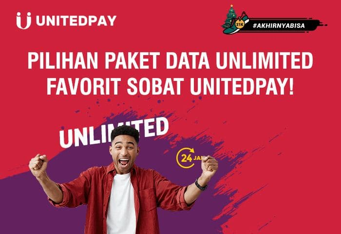 Paket Data Unlimited! Internetan Puas Harga Pas