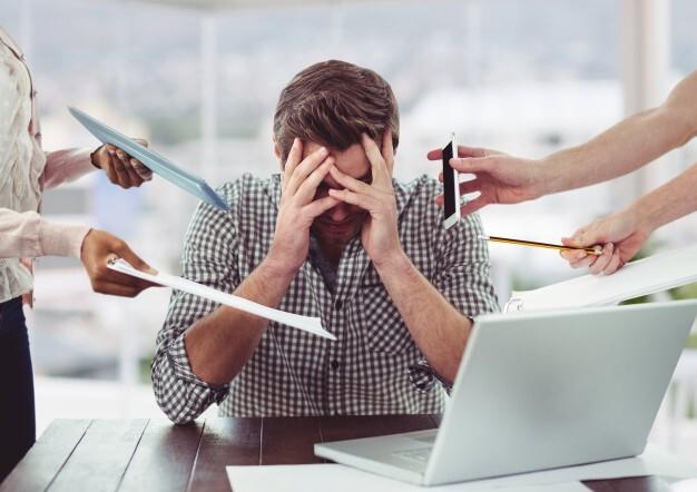 6 Tips Ampuh Mengatasi Stres Saat Bekerja